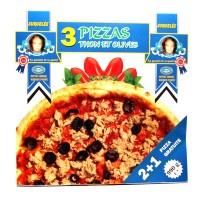 3 PIZZA PARVE AU THON