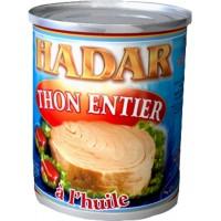 CARTON DE THON HADAR 800GR