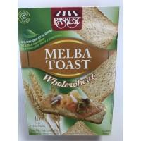 MELBA TOAST WHOLEWHEAT 200GR