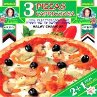 3 PIZZA CAPRICIOSA